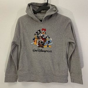 Disney Embroidered Pirate Themed Pullover Hoodie